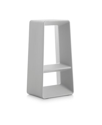 Barová židle Air High Stool Light Grey