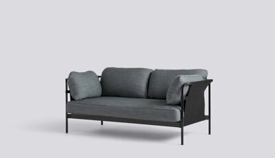 Sedačka Can 2 Seater, Surface by Hay 990, Black Steel