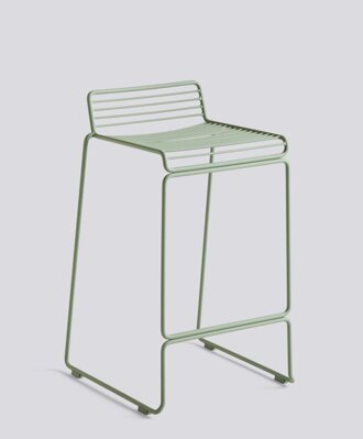Barová židle Hee Bar Stool Low, Fall Green