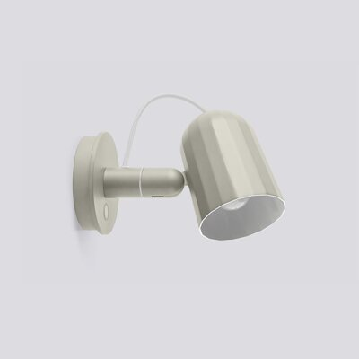 Lampa Noc Wall Button / Off white
