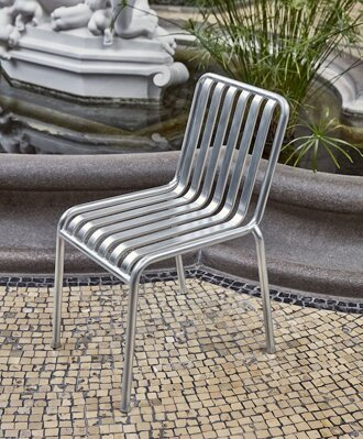 Židle Palissade Chair Hot Galvanised