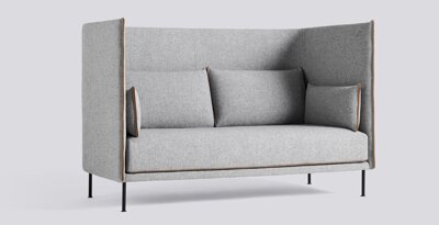 Sedačka Silhouette Sofa High Backed 2 Seater Mono / látka Hallingdal 130