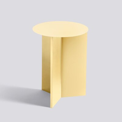 Stolek Slit table, High Light yellow