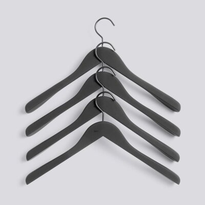 Ramínka Soft Coat Hanger / Wide Black