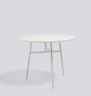 Stůl Tilt Top Table Ø90 x 74 cm - White