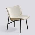 Křeslo Dapper / Black powder coated steel / Coda 100 / Front upholstery