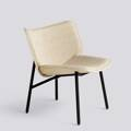 Křeslo Dapper / Black powder coated steel / Hallingdal 220 Front upholstery