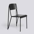 Židle Petit Standard / Black Powder Coated Steel / Black Stained