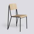 Židle Petit Standard / Black Powder Coated Steel / Matt Lacquered