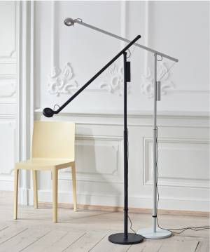 Stojací lampa Fifty-fifty floor lamp