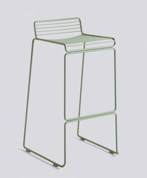 Barová židle Hee Bar Stool High, Fall Green