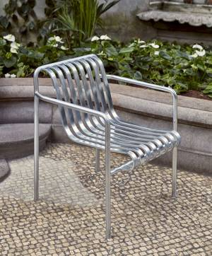 Židle Palissade Dining Armchair Hot Galvanised