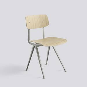 Židle Result Chair, Beige Powder Coated Steel - Matt