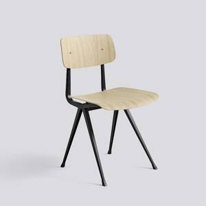 Židle Result Chair, Black Powder Coated Steel - Matt