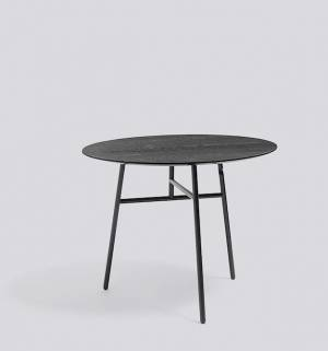 Stůl Tilt Top Table Ø90 x 74 cm - Black
