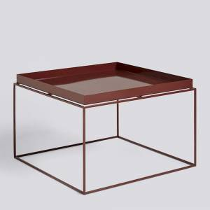 Stolek Tray table, Coffee table, Chocolate High Gloss