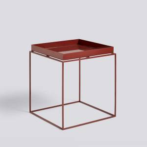 Stolek Tray Table M, Chocolate High Gloss