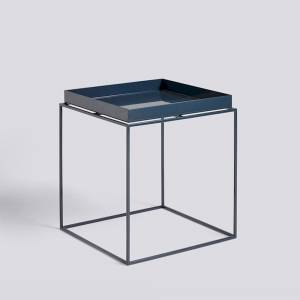 Stolek Tray Table M, Deep Blue High Gloss